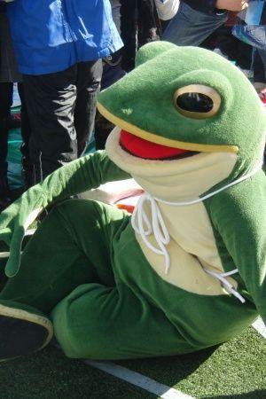 Japans frog mascot is named Ippeikun