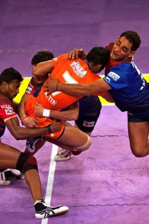 Kabaddi is a popular sport