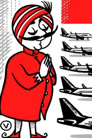 Maharaja Mascot Air India sale business class airlines