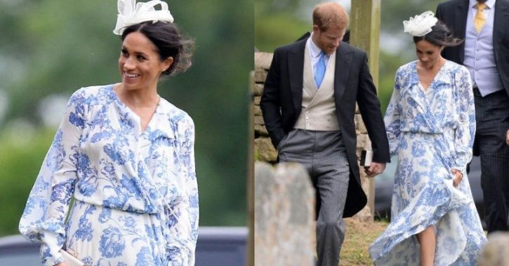 People Lash Out At Meghan Markle For Wearing An Ill