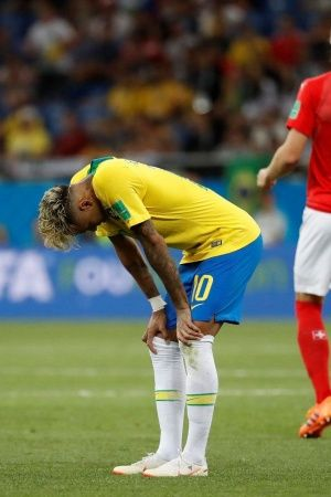 Neymar failed to make an impact i Brazils first game