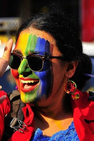 Rainbow flag history LGBTQ stonewall riots Baker