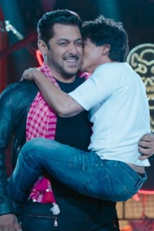 Salman Khan Enjoyed Shooting With Shah Rukh Khan Says Hes In Zero Because He Is A Zero
