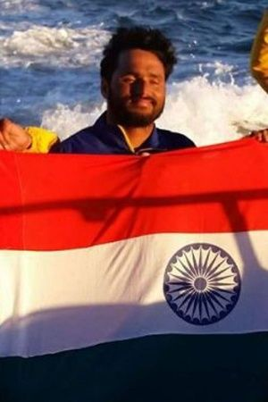 Satendra Singh crosses English channel