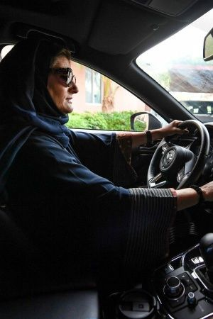 Saudi Arabia Women driving riyadh ban historic day