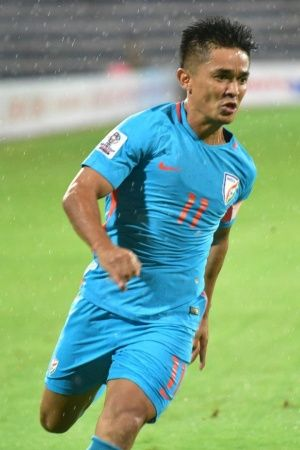 Sunil Chhetri is only the 2nd Indian to play over 100 games
