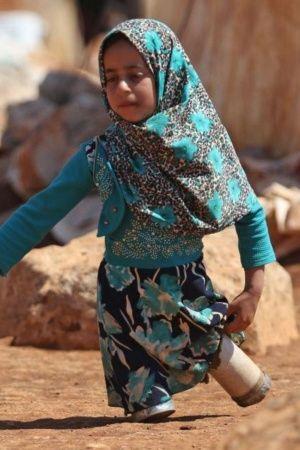Syrian girlAFP