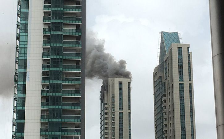 Worli Fire: Firefighters Turn Saviours, Climb 33 Floors To ...
