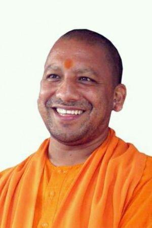 Yogi Adityanath wore a saffron Liverpool FC jersey