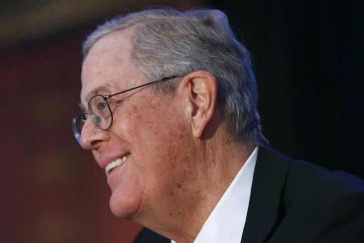 In case you were wondering these are the 20 richest for David charles koch