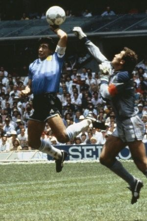 Diego Maradona was a magician with the ball