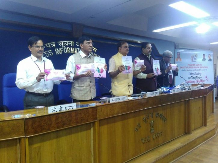 Government Launches Biodegradable Sanitary Pads Suvidha