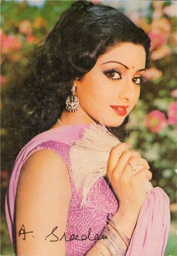 11 Rare And Unseen Pictures Of Sridevi That Will Remind