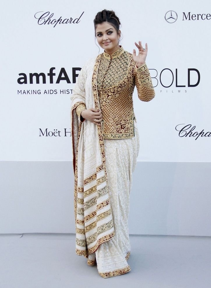 A picture of Aishwarya Rai Bachchan from Cannes Film Festival 2012.