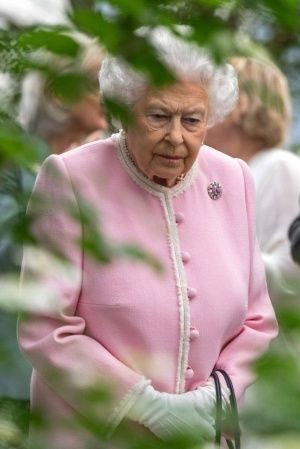 A picture of Queen Elizabeth