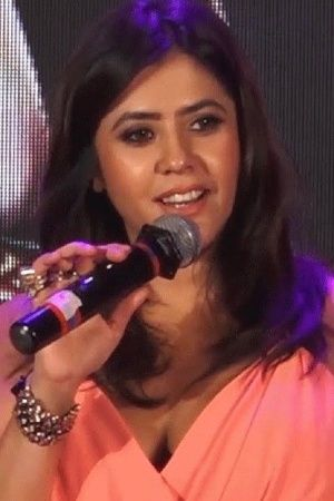 A picture of Veere Di Wedding producer Ekta Kapoor expressing her opinion on petrolfuel price hike