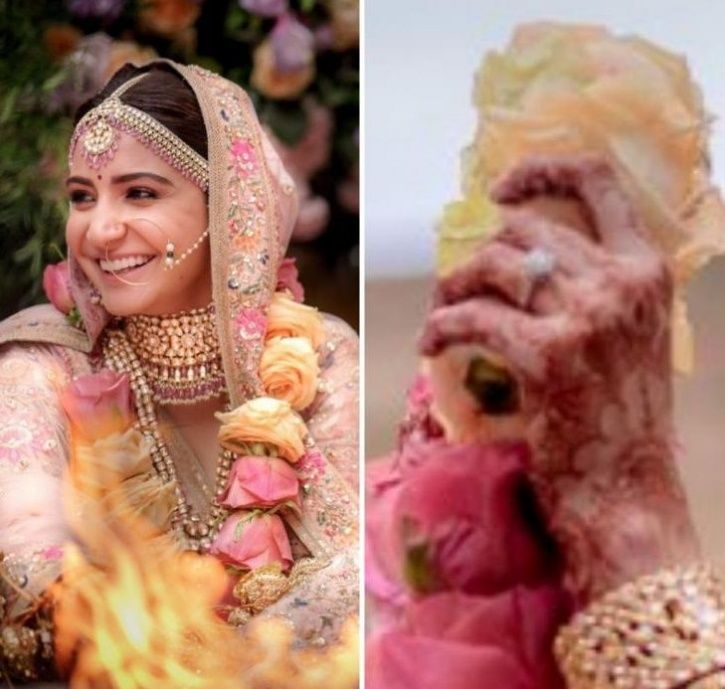 Anushka Sharma who last year had tied the knot to Virat Kohli wears engagement ring worth Rs 1 crore