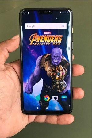 Avengers OnePlus 6