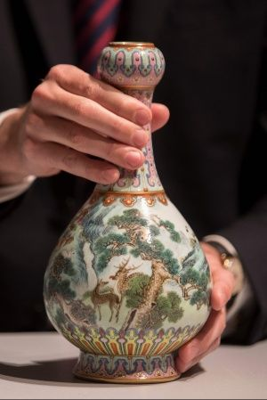 Chinese vase AFP