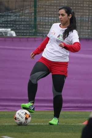 Khalida Popal is the face of womens football in Afghanistan