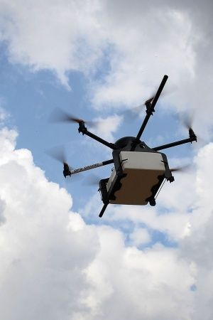 Lucknow Based Startup Invented Drone For Tea Delivery