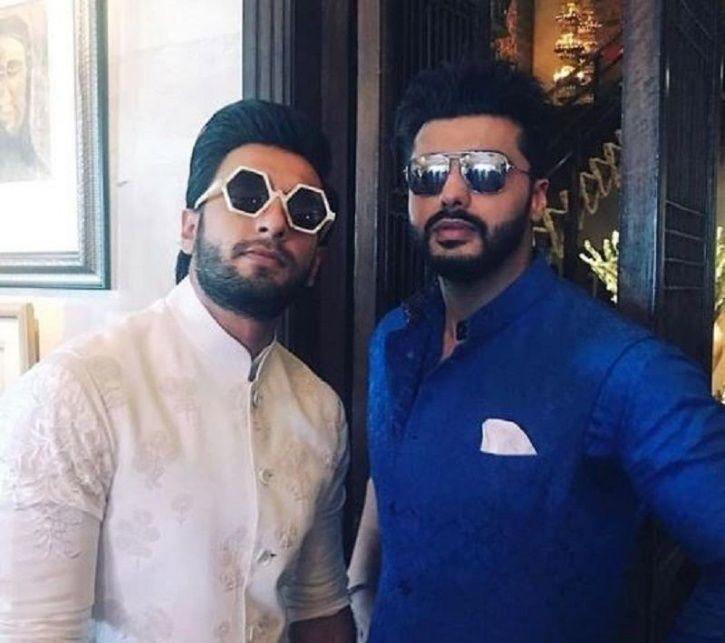 Ranveer Singh & Arjun Kapoor Celebrate Sonam's Big Day By ...