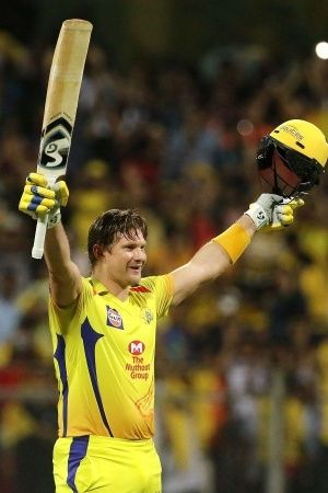 Shane Watson made 117 not out in 57 balls