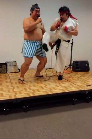 street fighter II ryu vs honda