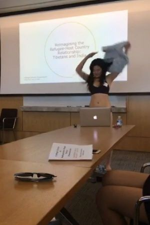 Student Shuts Down Professor Who Told Her To Dress Properly By Stripping During PhD Presentation