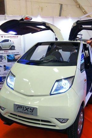 Tata nano hybrid electric pixy