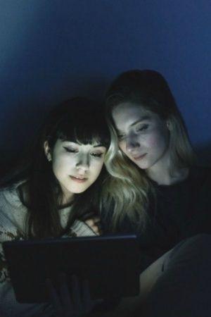 women watching porn
