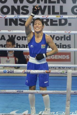 mary kom won medal at world boxing championships