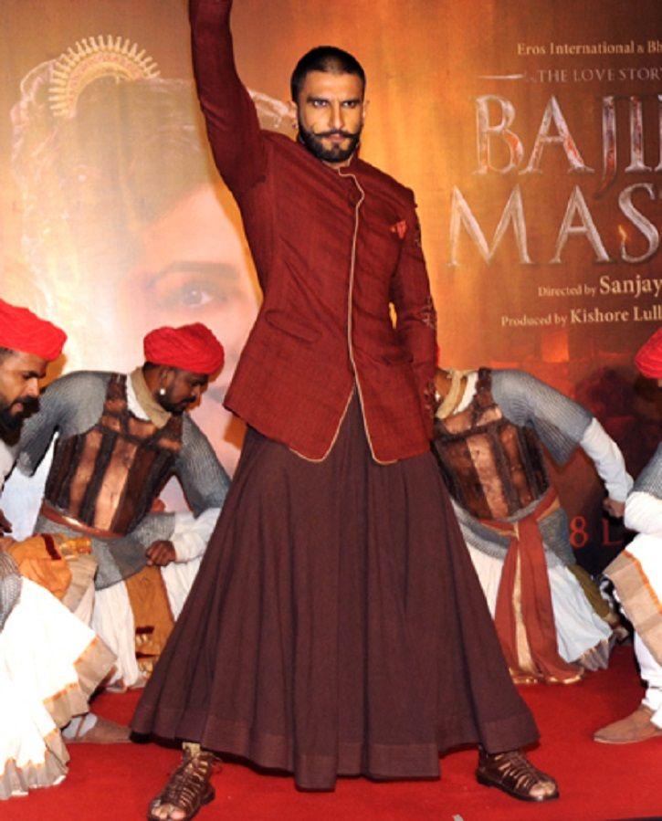 Ranveer Singh in a Ghaghra / Rock.