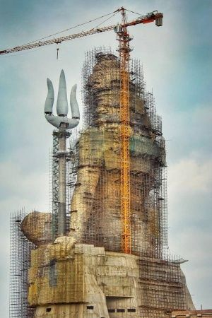 Will Andhra Assembly Building be taller than Statue of Unity?