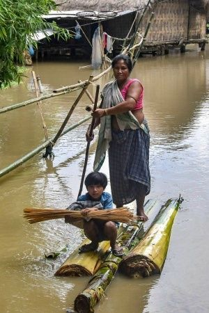 76 Villages In Assam Submerged After Dam Gates Opened Following Heavy Rains People Evacuated