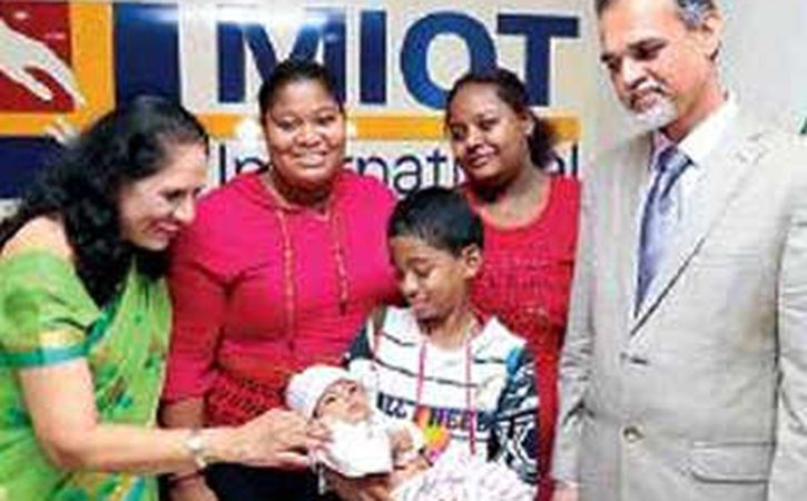 Baby From Seychelles Get Treated In Chennai