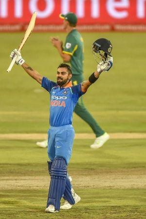 Cricketer Virat Kohli gets an annual salary of Rs 7 crore