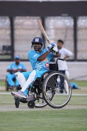 Indias Wheelchair Cricket Team