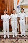 INSV Tarini Crew Bestowed With Tenzing Norgay Award