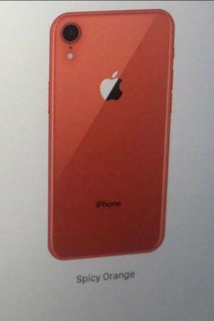 iphone spicy orange new colour 2018