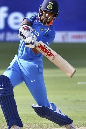 Shikhar Dhawan made 127