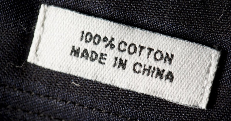 china label coronavirus labels vsa tags trump siti cinesi acquistare oceans buying bloomberg come indians 2025 clothing yoga pants getty