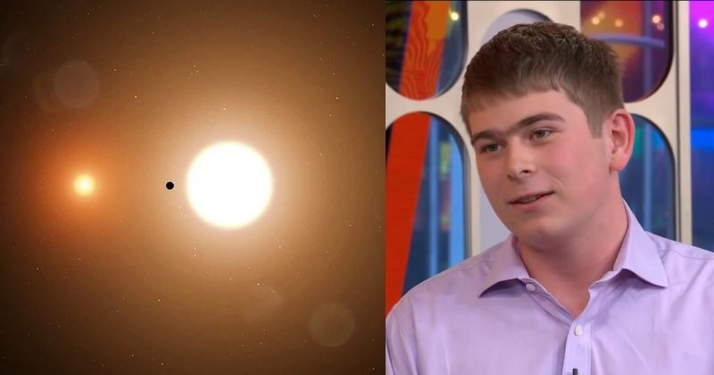 This 17-Year-Old NASA Intern Discovered A Planet On Just His Third Day Of Internship
