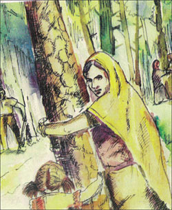 chipko movement in india The chipko movement or chipko andolan was a forest conservation movement  where people  in modern india, it began in 1973 in uttarakhand (then in uttar  pradesh) and went on to become a rallying point for many future environmental.