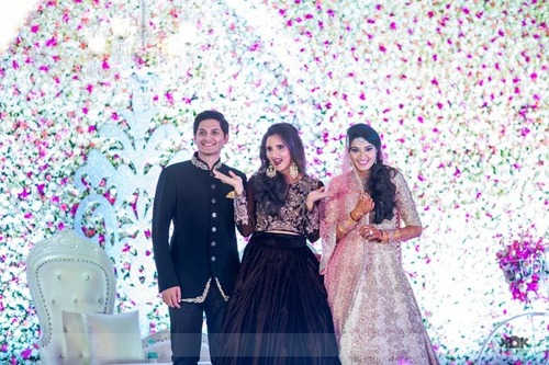 Heres All The Unseen Action From Wedding And Pre Functions Sania Mirza