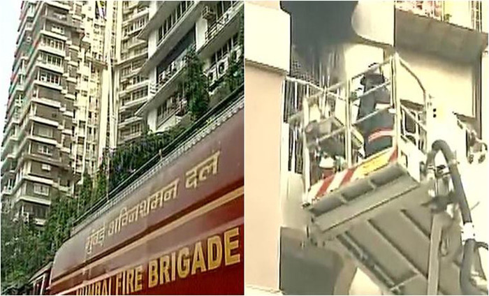 Fire breaks out in residential apartment at cuffe parade for Jolly maker apartments cuffe parade