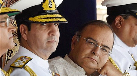 Jaitley Takes Charge As Defence Minister