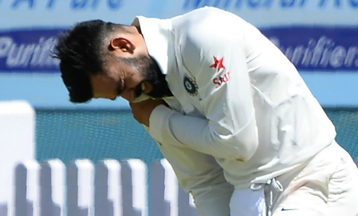 No Serious Concern About Kohli's Shoulder Injury: BCCI