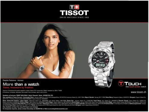 Celebrity their endorsements for Celebrity tissot watch