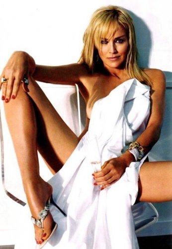Sharon stone sexy young remarkable, the